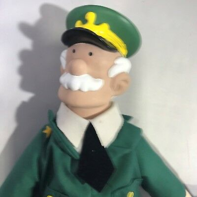 Beetle Bailey General Halftrack Doll 16 Inch Stuffed 2000 Comic Strip Character