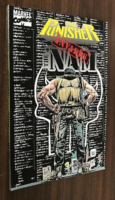 PUNISHER INVADES THE NAM TPB -- 1994 OOP -- VF/NM Or Better