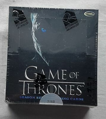 Game Of Thrones Season Siete 7 Trading Cards Box (Rittenhouse 2018) Limitada