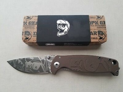 LionSTEEL DPx Gear HEST/F Limited Edition Folder Mr. DP. Earth brown. dphs 123
