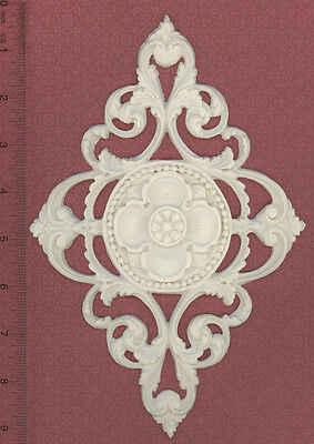 Dollhouse Miniature Miniature Decorative Ceiling Carving