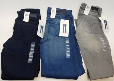 Calvin Klein Jeans Ladies' Ultimate Skinny Low Rise Jeans Assort Sz and Colors