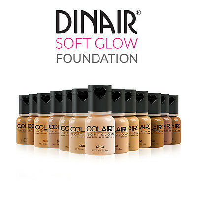 Dinair Airbrush Makeup Soft Glow Foundation Full Coverage Choose Color