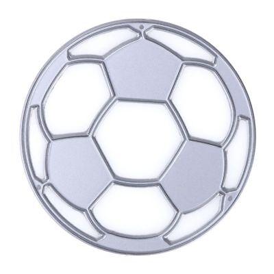 2X(World Cup Football Design Cutting Dies Stencils for DIY Scrapbooking / E1L1)