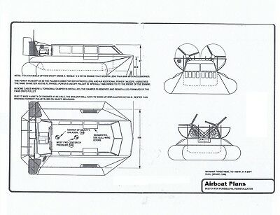 complete hovercraft plans
