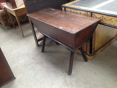 Unusual Antique Oak 18th Century Dough Bin / Coffer