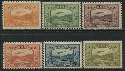 New Guinea 1939 Airmails 1/2d to 4d mint o.g.