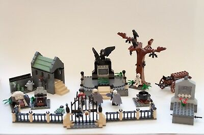 Lego Harry Potter Graveyard Duel 4766 99 W Box And Manual