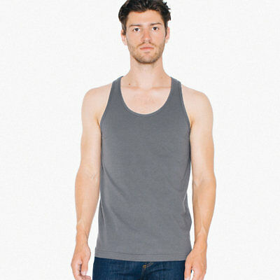2408W American Apparel Unisex Fine Jersey Tank Xs-2Xl Imported 13 Colors-New!