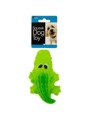 Crocodile Squeak Dog Toy (Available in a pack of 12)