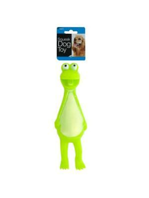 Frog Squeak Dog Toy (Available in a pack of 12)