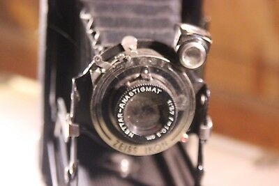 Vintage ZEISS IKON folding Camera and Leather Case