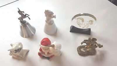 Various Unicorn Figurines/ Misc.- Lot Of 6