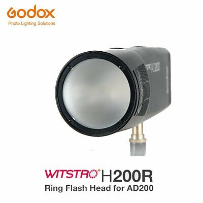In Stock Godox H200R Ring Flash Head Separation Extension Head For AD200 Flash