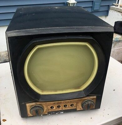 Antique Admiral Bakelite TV television 12X11 pick up Long Island