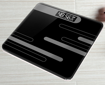 Portable Electronic Digital Bathroom Precision Weight Body Scale 180KG/400IB UK