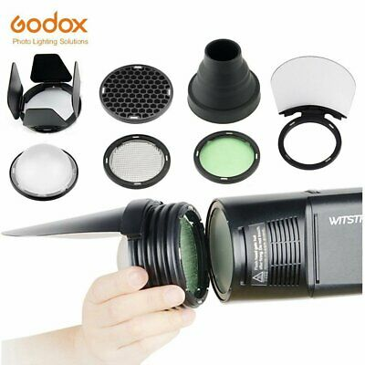 Godox H200R Ring Flash Head + AK-R1 Accessories Kit Honeycomb For AD200 Flash