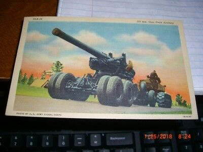 U S Army Field Artillery 155 -Series 34/ with new stamp