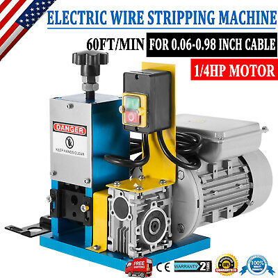 Copper Powered Electric Wire Stripping Machine Metal Recycle Tool Cable Stripper