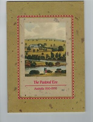 1989  THE PASTORAL ERA. 1810-1850 Booklet FDC & Mint Stamps