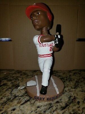Billings Mustangs Gary Redus Bobblehead - Cincinnati Reds Minor League