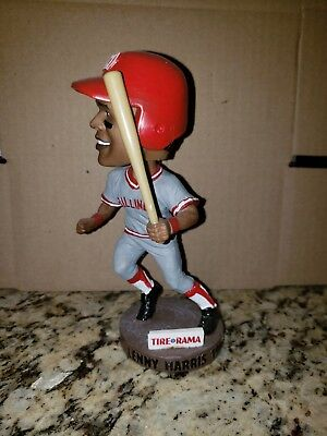 Billings Mustangs Lenny Harris Bobblehead - Cincinnati Reds Minor League
