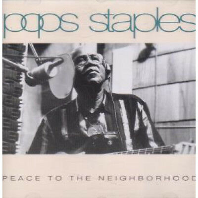 POPS STAPLES Peace To The Neighborhood CD UK Point Blank 10 Track (vpbcd8)