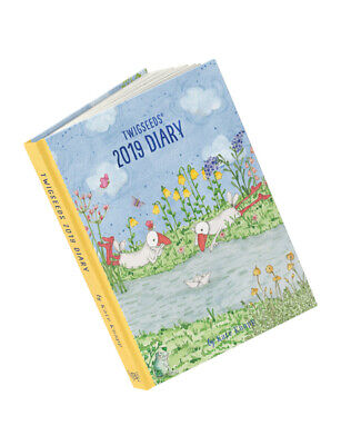 2019 Diary Twigseeds By Kate Knapp Hardcover NEW