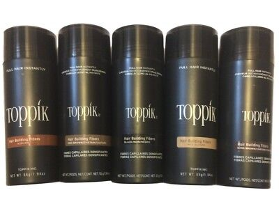 Toppik Hair Building Fibers - Giant 55g / 1.94 oz (Pick Your Color) - Ships Fast