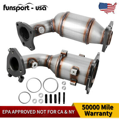 For 2002-2006 Toyota Camry 2.4L Direct-fit Front Flex Pipe Catalytic Converter