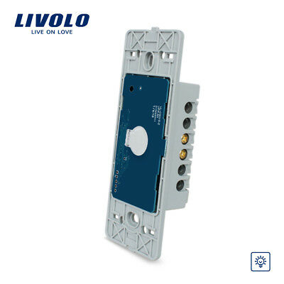 Livolo US standard 1 gang Wall Light Touch Dimmer Switch base board AC 110~250v