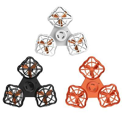 Flying Mini Drone Spinner Relief Toy Rechargeable Flying Gyro  Kids Adult Stress