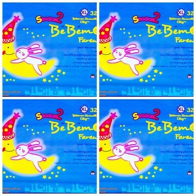 Nappies BeBemon Size XL32 x 4 Packs for Babies 13Kg+