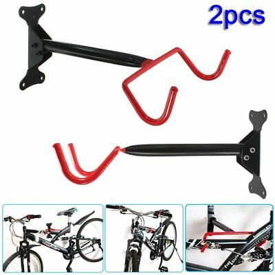 2x fahrrad wandhalter klappbar fahrradhalter wandhalterung bike rack rot de eur 14 99. Black Bedroom Furniture Sets. Home Design Ideas