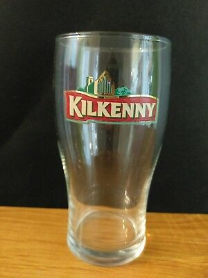 Collectable Kilkenny Beer Glass great Condition perfect for bar man Cave