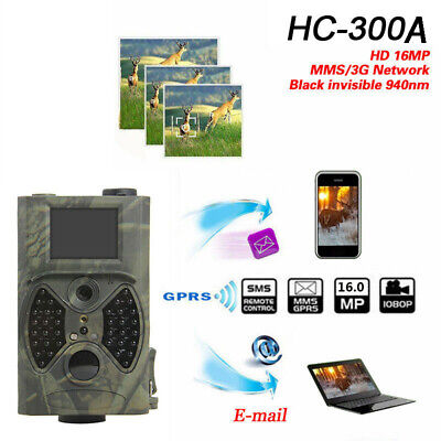 SunTek HC-300 940NM 12MP GPRS Scouting Infrared Traps Trail Hunting Camera -su