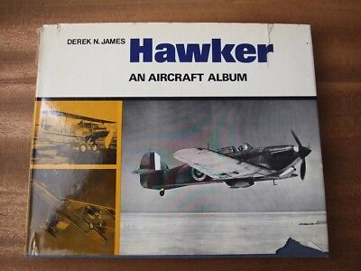 Hawker: An Aircraft Album - Derek N. James (Aircraft album series)