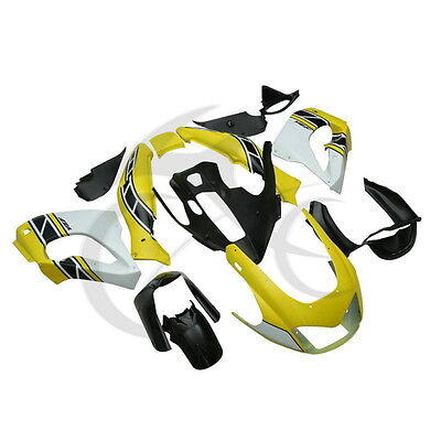 Yellow Hand made Bodywork ABS Fairing Set For Yamaha YZF1000 YZF1000R 1996-2003