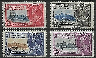 Bechuanaland - SG 111-114 - 1935 - Silver Jubilee Set of 4 - Used