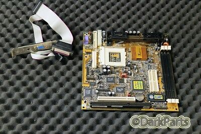 PC Chips M748LMRT Motherboard Socket 370 System Board