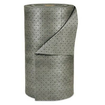 "Spc MRO Plus Medium Sorbent-Pad Roll, 38gal, 30"" x 150ft, Gray (SBDMRO350DP)"