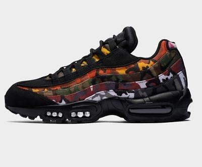 4e359f978242 Nike Air Max 95 ERDL Party Camo Black Multi Color Mens Trainers AR4473 001
