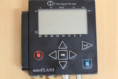 Convergent design nanoflash hd/sd recorder