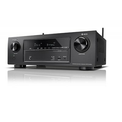 Denon AVR-X1400H 7.2 AV-Receiver inkl. Heos Bluetooth AirPlay Heimkino black