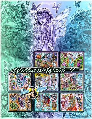 Tattoo Johnny Billy Webb Wicked Wonderland Flash Set