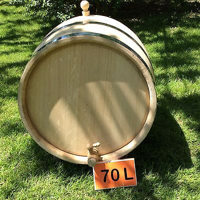 70L Hand-made oak barrel