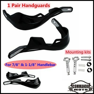 "Handguards Hand Guard Protector Universal For 7/8"" & 1-1/8"" Handlebar Motorcycle"