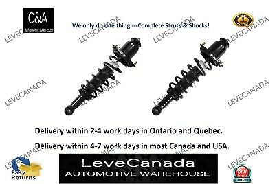 2004-2009 Toyota Prius(PAIR) Rear Complete Struts & Coil Springs