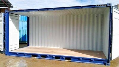 lager seecontainer 20 39 side door container 20 fu. Black Bedroom Furniture Sets. Home Design Ideas