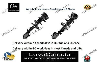 2004-2009 Toyota Prius(PAIR) FRONT Complete Struts & Coil Springs